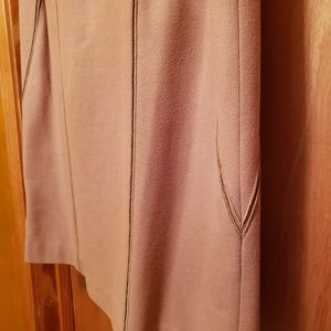 Harve Benard Skirts - HARVE BENARD TAN WOOL SUIT